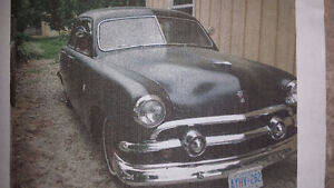 Classic Vintage 1951 Ford Custom for Sale!!!!!