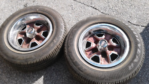 Only 2 Oldsmobile Rally Rims $150