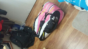 Black Knight Badminton Racket Bag (Pink)