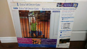 Extra tall metal baby gate