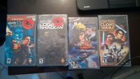 4 - PSP Games.....GREAT DEAL