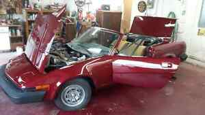 1980 TRIUMPH TR7 CONVERTIBLE RARE COLLECTABLE London Ontario image 2