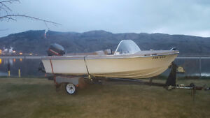 Pending Deal 1968 15' Sangstercraft boat with 75HP OB $1500 OBO