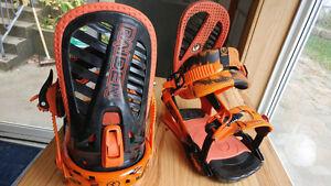 Raiden snowboard bindings