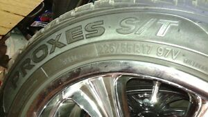 Toyo Proxes tires with custom rims Kingston Kingston Area image 2