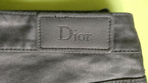 Dior Black Waxed Jeans for Women Made in Italy Size 4