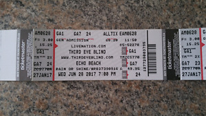 Third eye blind concert tickets