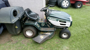 riding mower tractor