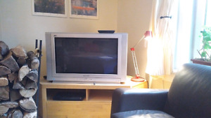 "37"" Panasonic HDTV, DVD Player and GoogleTV Combo"