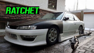 s13.4 30mm Kouki Conversion Fenders.(fenders only)