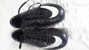 Size 2 youth NIKE soccer shoes