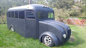 1955 GMC Shorty Bus ONE OF A KIND