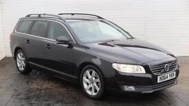 2014 Volvo V70 2014 64 Volvo V70 1.6 TD D2 SE Nav Diesel black Automatic