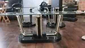 Beautiful 3pc glass coffee table set  Cambridge Kitchener Area image 3