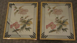 set of -2 mirror picture frame .