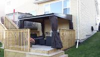 Custom Decks - Garages - New Homes - Additions