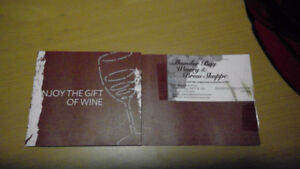 100$ Craft Wine-Making Gift Certificate