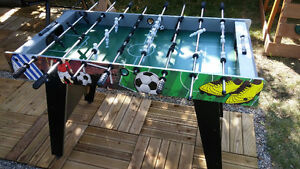 soccer sur table