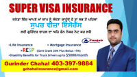 Super Visa Insurance / Visitor Medical Insurance 403-397-9884
