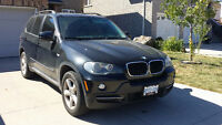 2007 BMW X5 3.0si, WITH NAVIGATION, MOONROOF, 7 PASSENGER, DVD!!