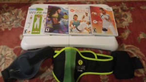 Wii Fitness Package - Balance Board and Games