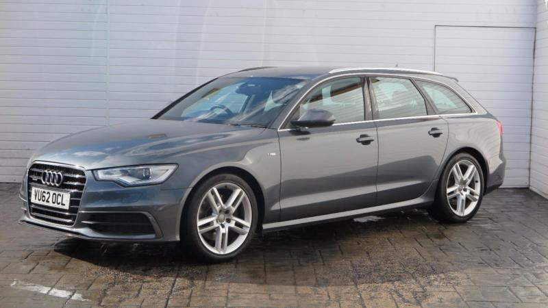 2012 audi a6 2012 62 audi a6 avant 3 0 tdi s line quattro s tronic diesel grey a in. Black Bedroom Furniture Sets. Home Design Ideas