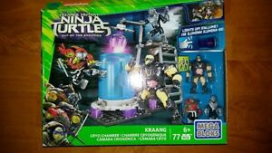 Mega Bloks TMNT Teenage Mutant Ninja Turtles Kraang Cryo Chamber