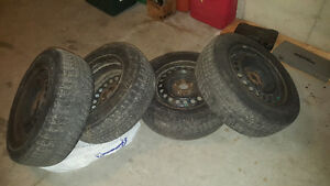 michelin ice 215 70 16 on steeles Kitchener / Waterloo Kitchener Area image 1