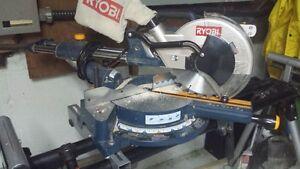 scie radial et plusieurs outils etat neuf