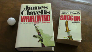 Whirlwind and Shogun, by James Clavell