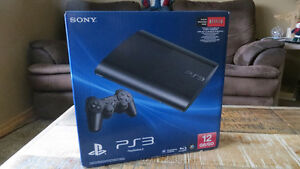 Brand New Sony PlayStation 3 12gb In Unopened Factory Sealed Box