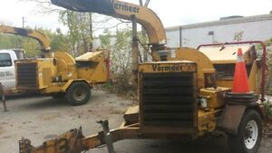 2 - 2005 Vermeer 1230A, Brush Chippers - $7000 each