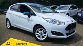2016 Ford Fiesta 1.25 82 Zetec White (Nav) 5dr Manual Petrol Hatchback