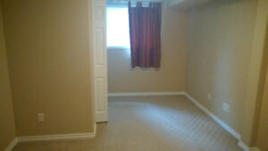 Furnished basement room w/ full private bathroom & upstairs feel
