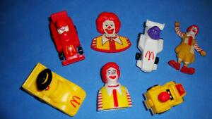 Figurines McDonald's