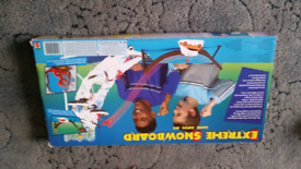 Extreme snow board game