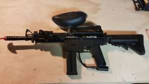 Paintball gun and accessories (mask, tanks, paintballs)