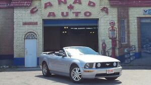 2006 FORD MUSTANG GT CONVERTIBLE WITH NO DAMAGE CLAIMS.