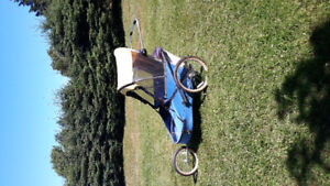 Wike special needs double bike trailer