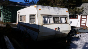 Trade 18' camper for truck box camper