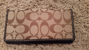 REDUCED! Coach Wallet/ check book