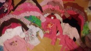 Vêtements de filles 4-5 ans!!