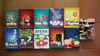 South Park Seasons 1-10, Viva La Bam, separate DVD box sets