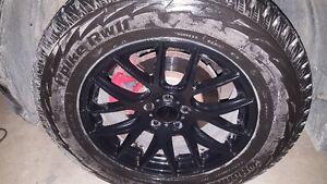 """mag + pneu d hivers 18"""" 5x114.3 + tpms"""
