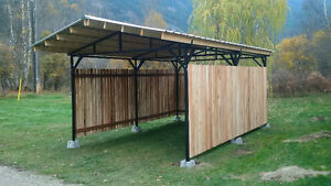 Engineered  Steel Shelters and Carports