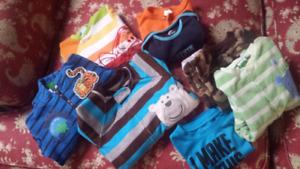 Lot de vêtements pour bébé garçon de 9 à 18 mois