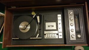 Vintage Music System & Console