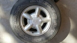 4 tire rims for truck
