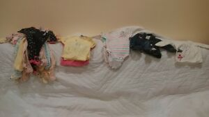 baby girl items 15 pieces