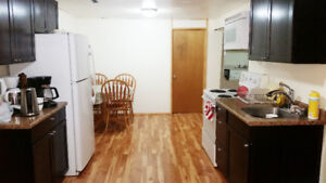 Basement Bedroom for Rent near the University, ALL Utilities In